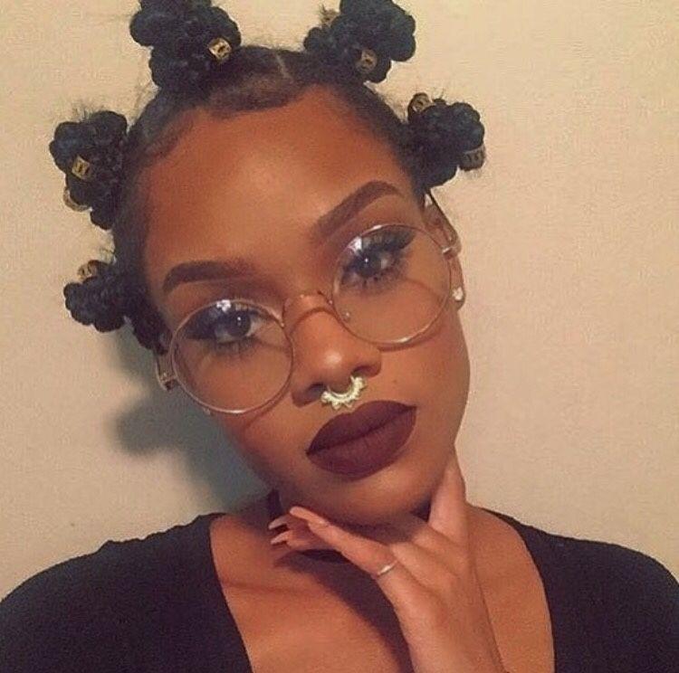Bantu Knot On Natural Hair B