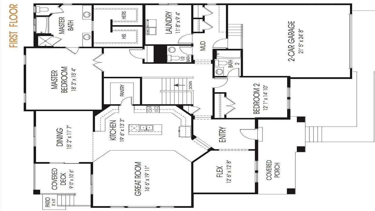 Floor Plan Tutorial (With images) Floor plans, Drawing