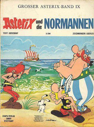 Asterix Und Die Normannen 9 Zeichentrick Asterix Und Obelix Bucher