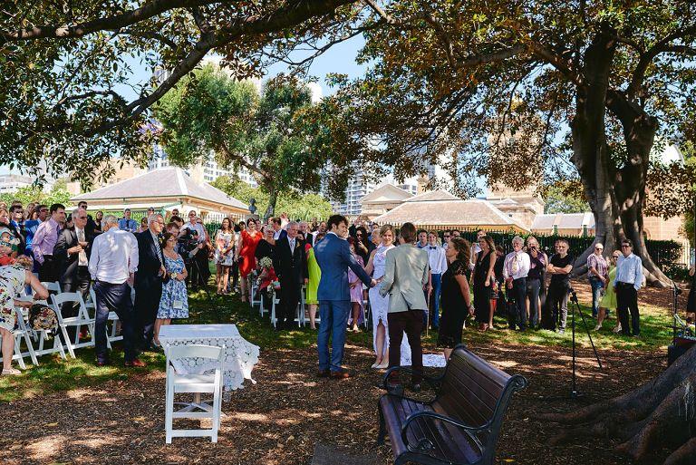 Sydney Observatory Hill Wedding Shayne And Belinda