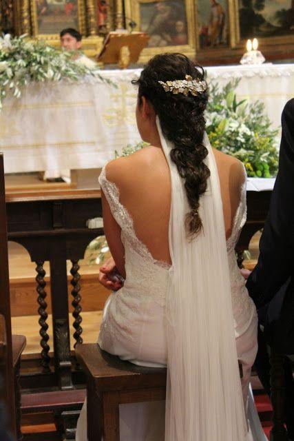 Tocados de porcelana para novia y ramos artesanales: febrero 2016