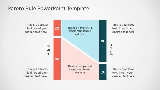 Pareto principle powerpoint template template and time management powerpoint shapes describing pareto rule ccuart Image collections