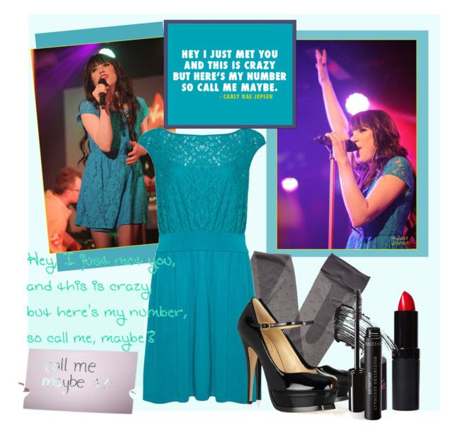 """call me maybe"" by chell-ie ❤ liked on Polyvore featuring moda, Gerbe, xO Design, A