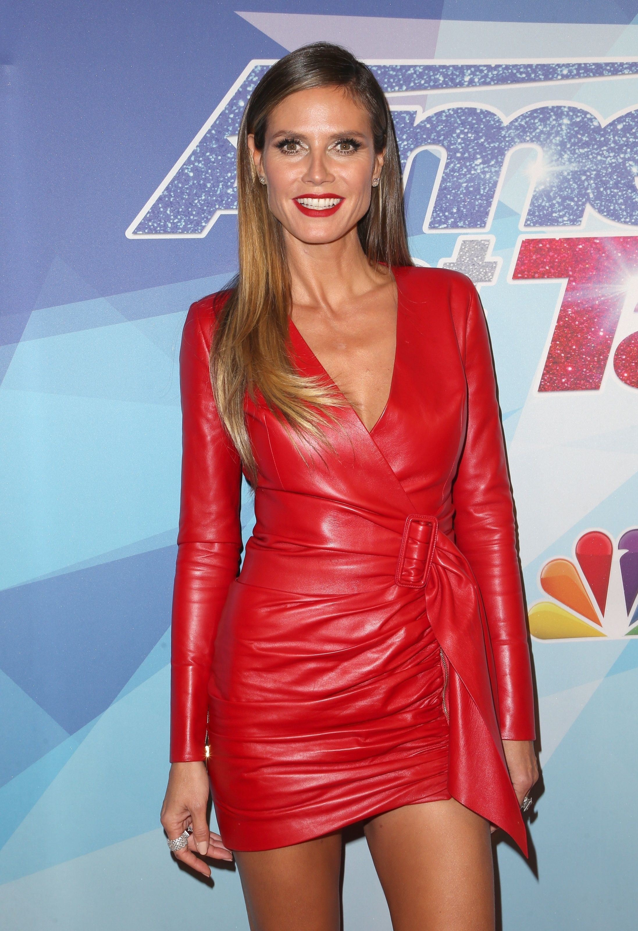 StarShinerS Gold Leather Red Dress in 2020 | Red leather