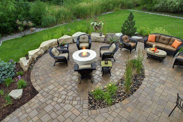 Minneapolis Backyard Landscape Design   Southview Design   Garden ...