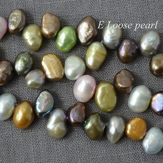 Material : Freshwater Pearl Grade : A++ Luster : High Shape : Corn pearl Size : 7.0-8.0mm X 9.0-10mm Quantity / Length : 58pcs -1strand / 37...