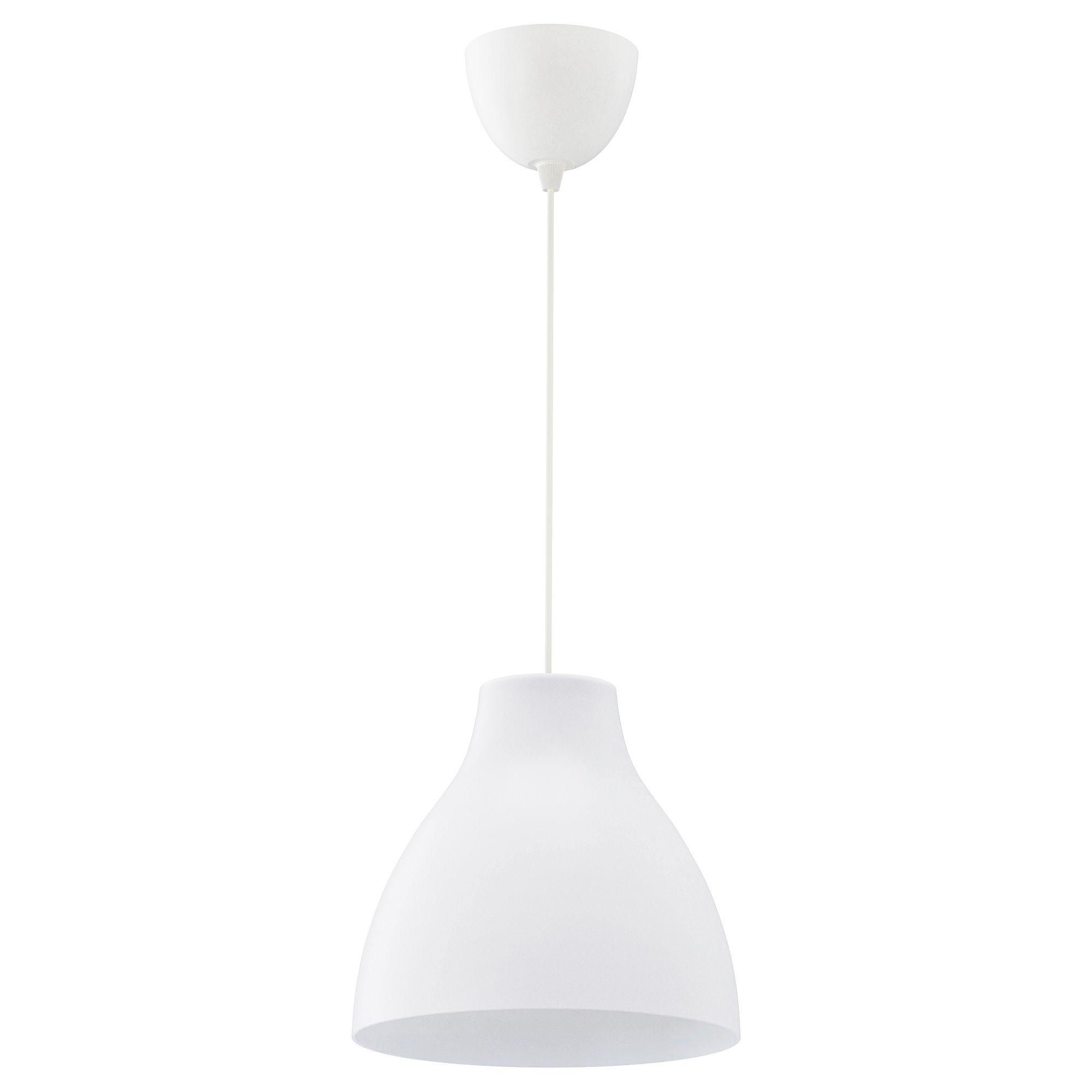 IKEA MELODI Pendant lamp white | Pendant lamp, Bathroom