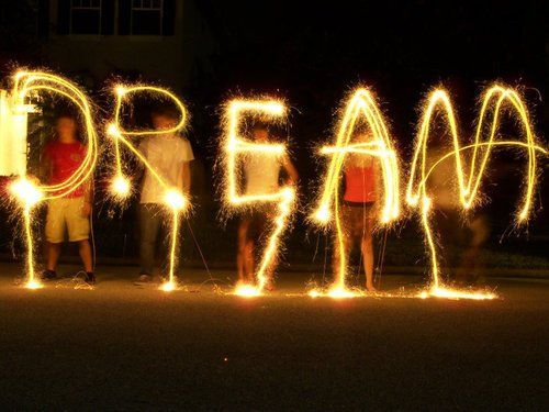 Dream big and dream well !!!!!!!!!!!!!!!!!!