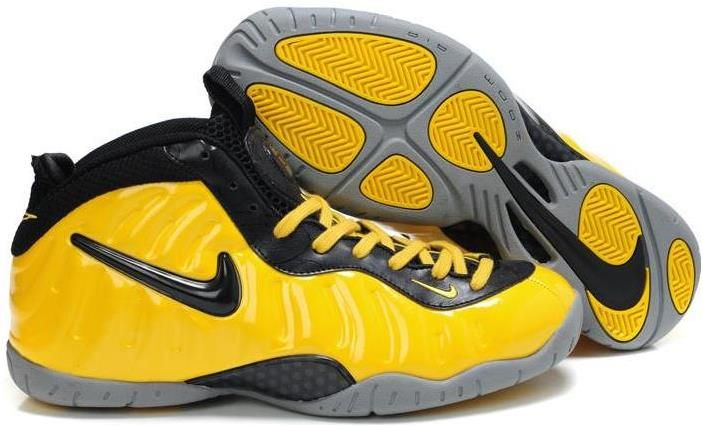 pretty nice f1d6e a3b65 Nike Air Foamposite Pro Yellow Black | Air Foamposite Pro ...