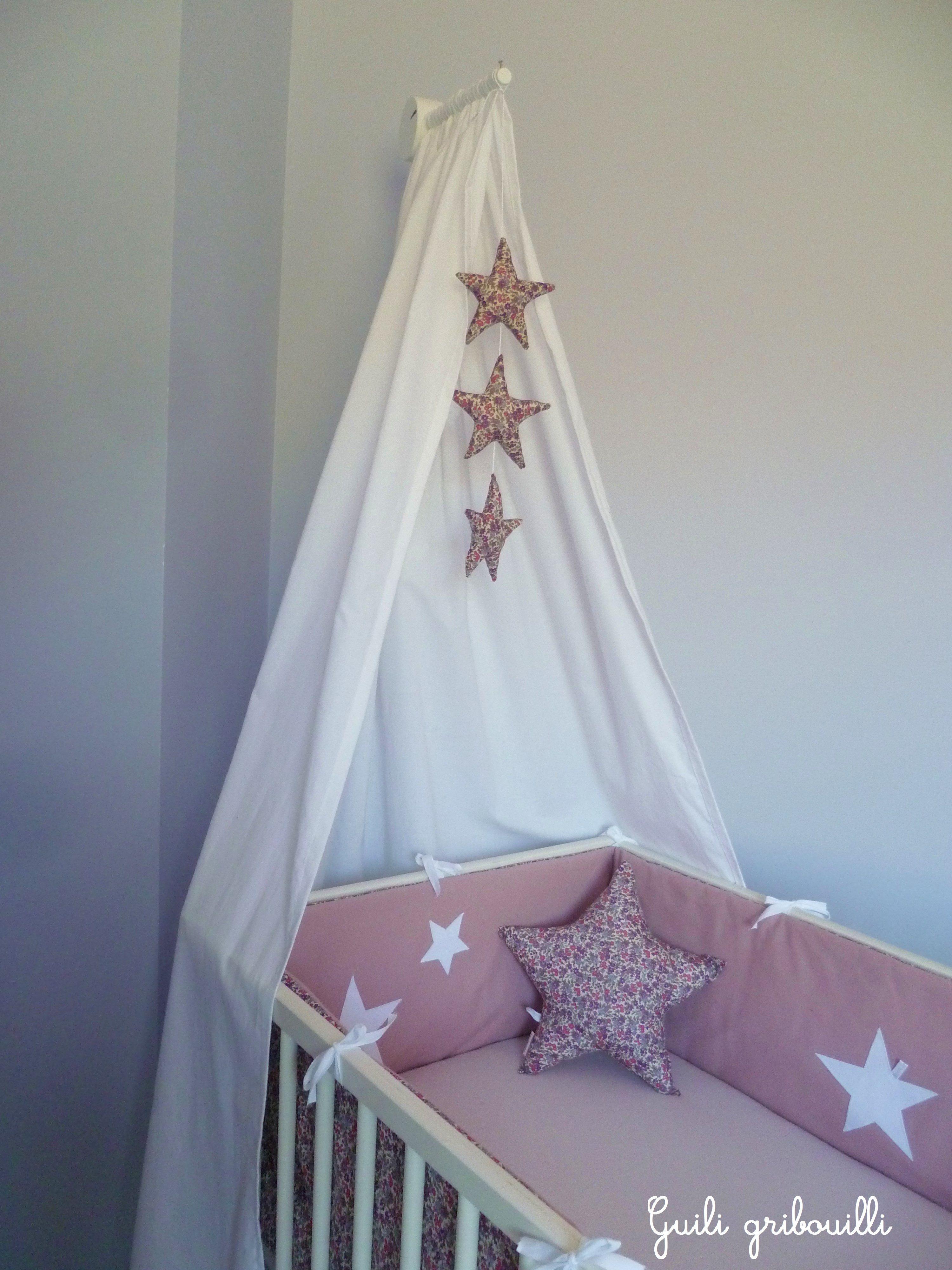 tour de lit liberty guili gribouilli mon bebe pinterest babies nursery and room. Black Bedroom Furniture Sets. Home Design Ideas