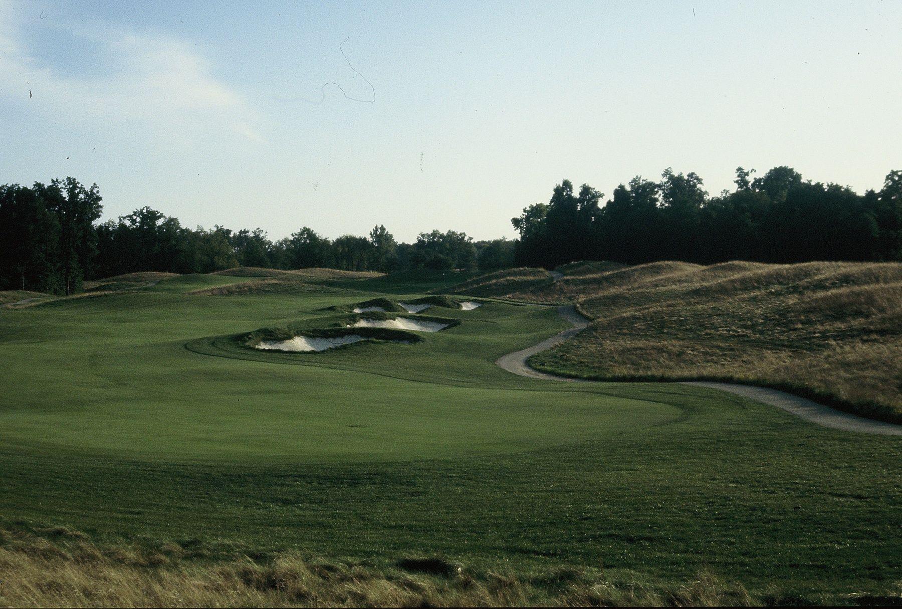 Steve Smyers Golf Course Architects Wolf Run Golf Club