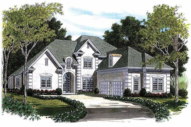 Traditional Style House Plan 5 Beds 4 Baths 3756 Sq Ft Plan 453 419 American Houses Family House Plans House Plans