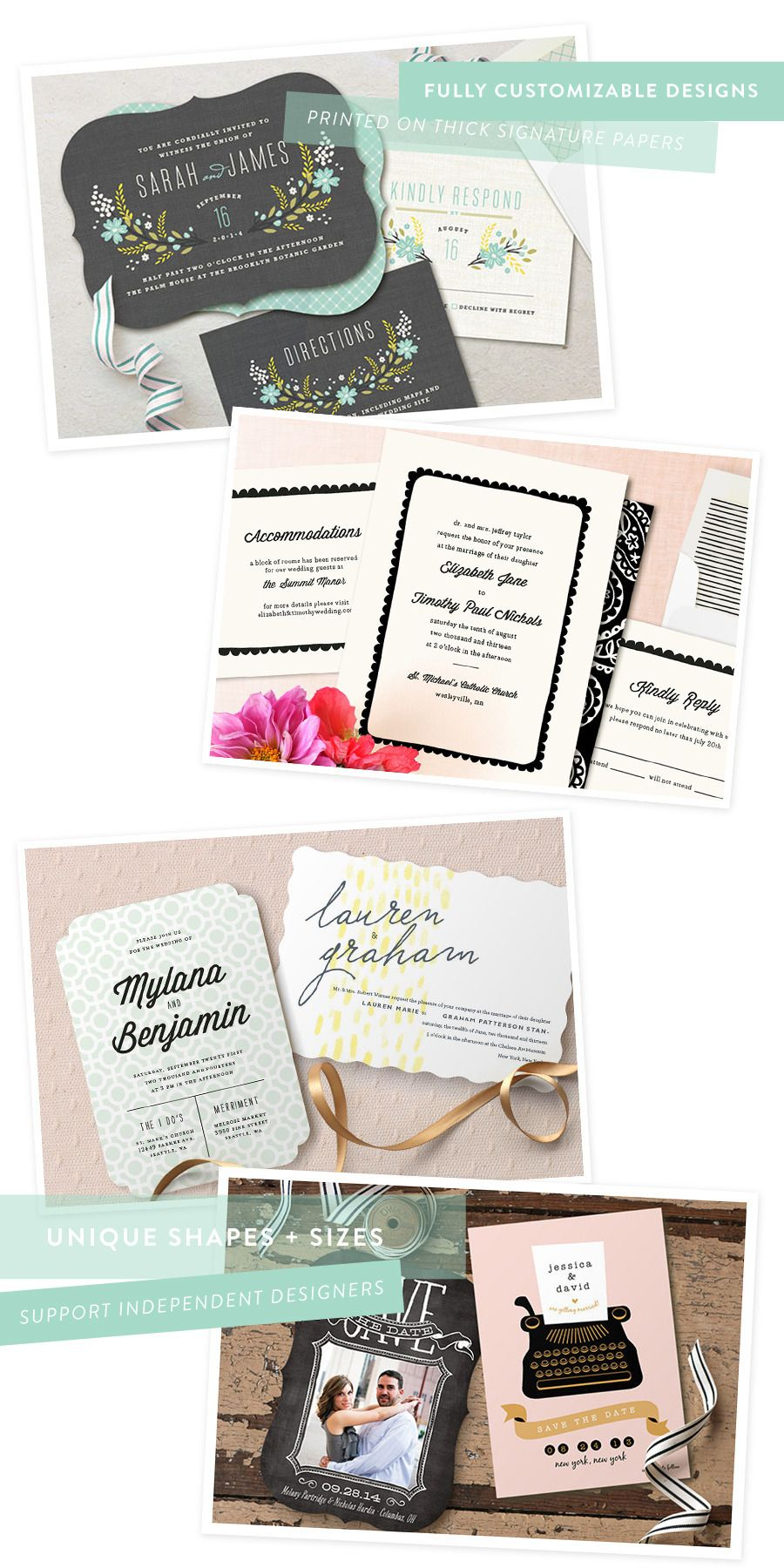 Minted Wedding Invitations + A Discount + Free Shipping! | Wedding ...