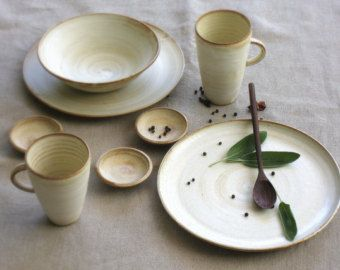 White Dinnerware Ceramic Gifts For The Stoneware Sets Rustic