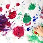 La peinture à doigt : quel bonheur…