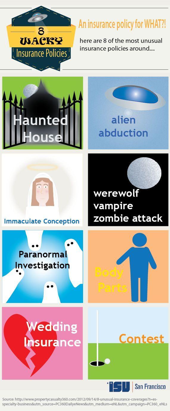 8 Very Unusual Insurance Policies insurance