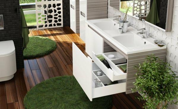Le lavabo double vasque pour votre salle de bains - Double evier salle de bain ...