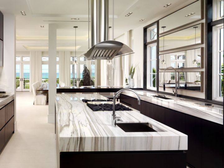Miami Shores Home | Interior & Design - Kitchen & Dining room ...