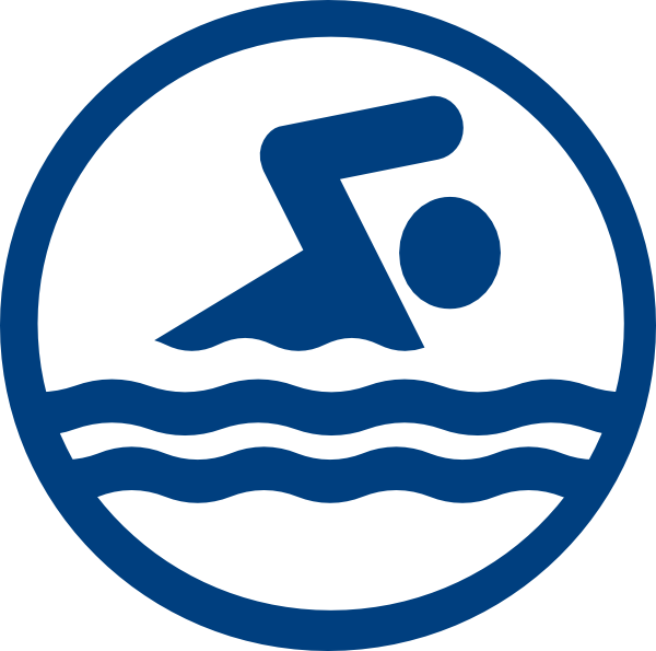 Swimmer Logo Swim Icon Clip Art Movement