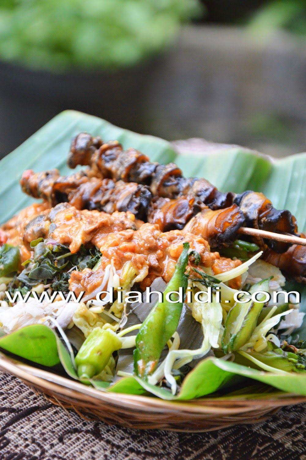 Diah Didi S Kitchen Pecel Sate Keong Resep Masakan Masakan Makanan