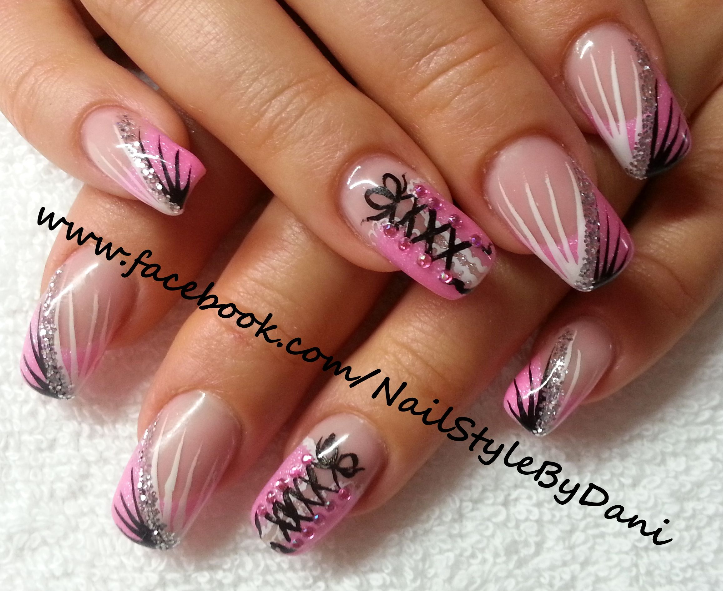 www.facebook.com/NailStyleByDani - inspired by Luminous Nails