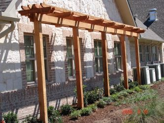 Perfect small pergolas and arbors skinny garden for Garden design windows 7