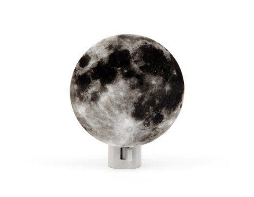 Amazon Com Kikkerland Moon Night Lights Children Colleague Stockingstuffer Unique Night Lights Moon Nightlight Night Light