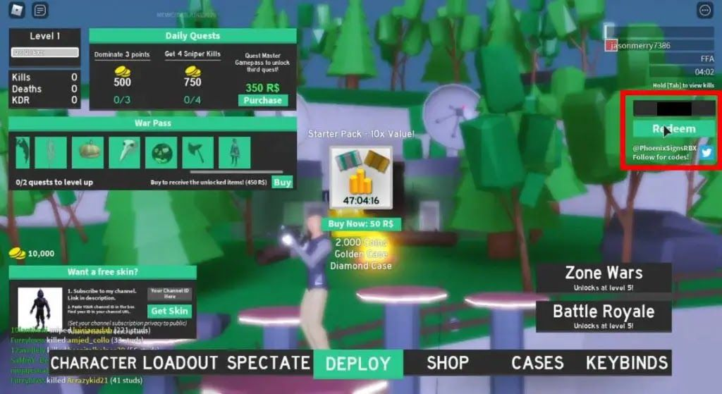 Strucid Is A Well Known Online Fight Royale Shooter Delivered In 2018 And Created Utilizing The Roblox Motor Like Fortnite And Coding Coins Multiplayer Games