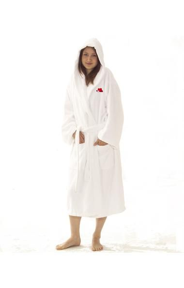 Hearts Hooded Dressing Gown, White | Valentine\'s Day Gifts | Pinterest