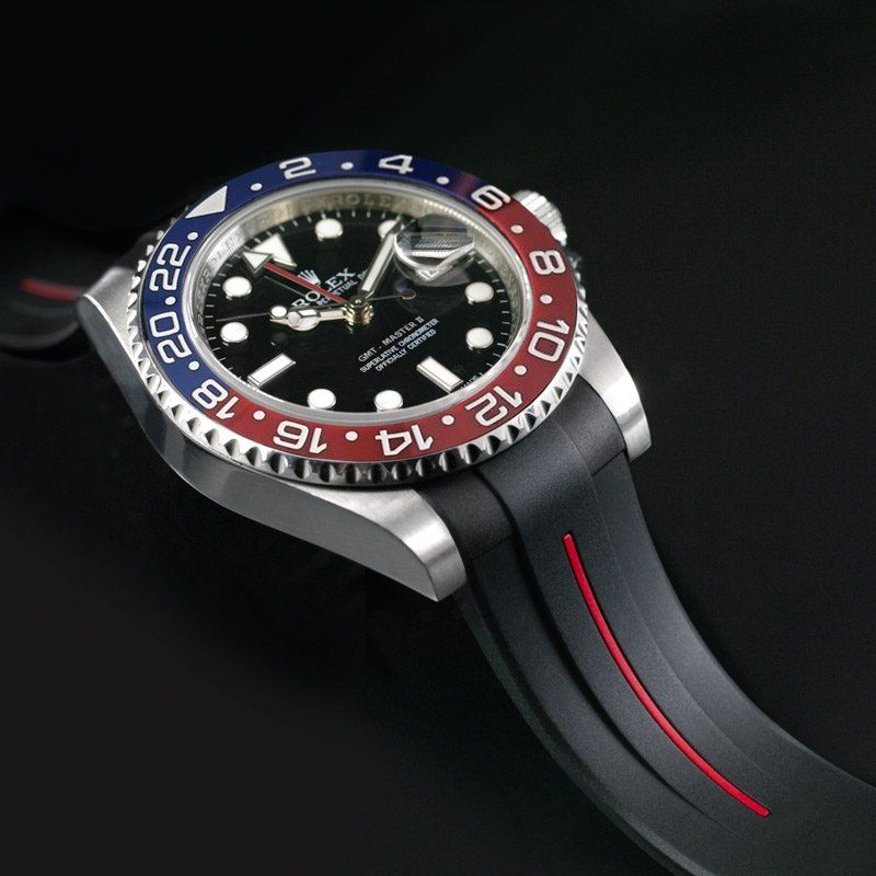 Strap for Rolex GMT Master II CERAMIC - Classic Series VulChromatic®