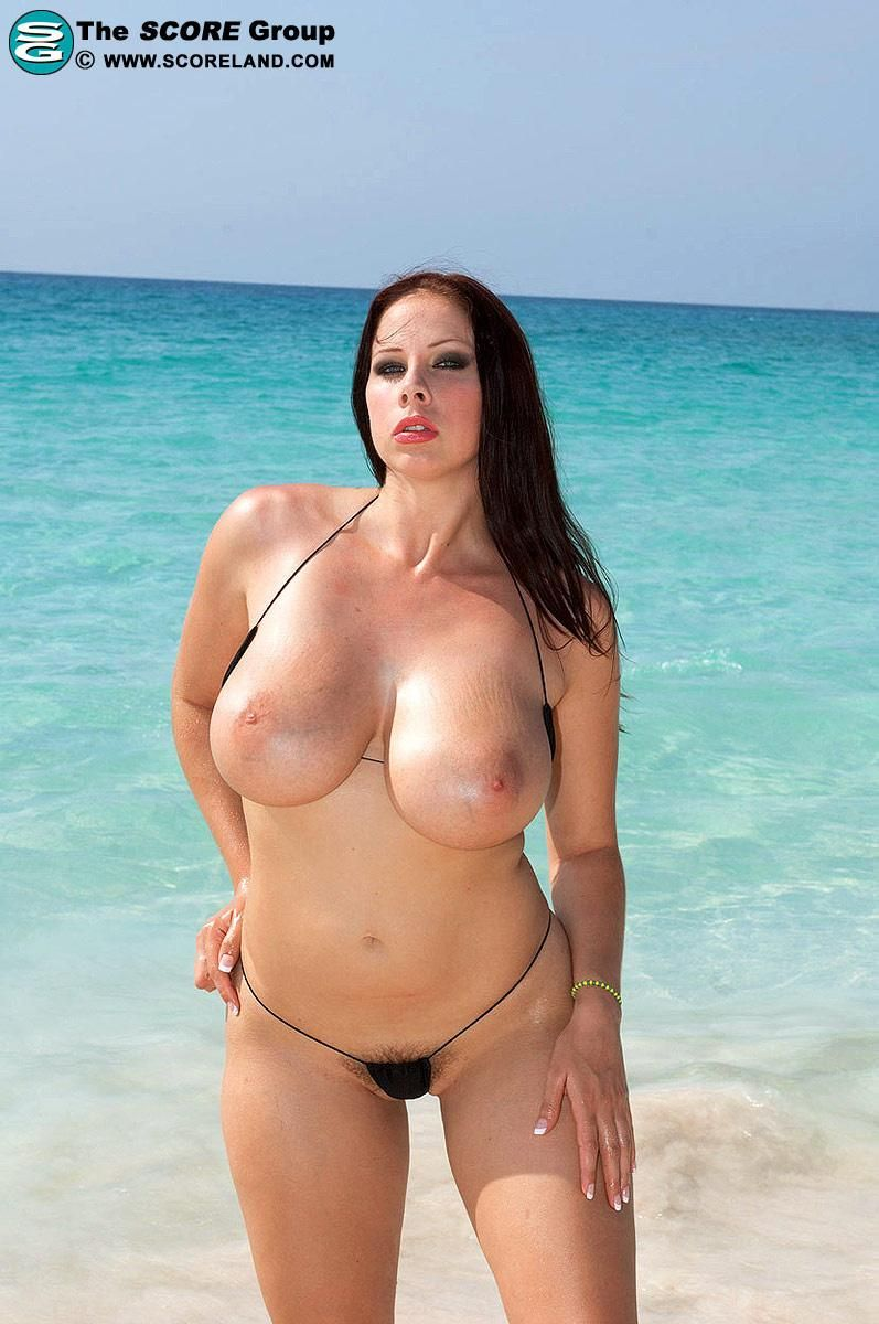 gianna michaels big tits beach | curves | pinterest