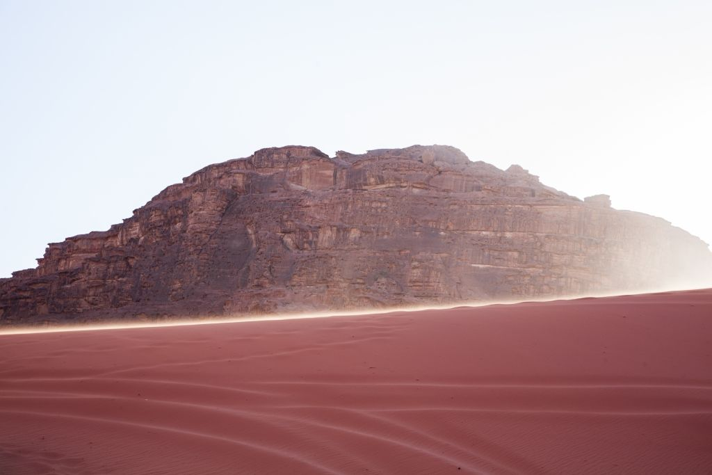 The Rolling Sands of Wadi Rum #wadirum