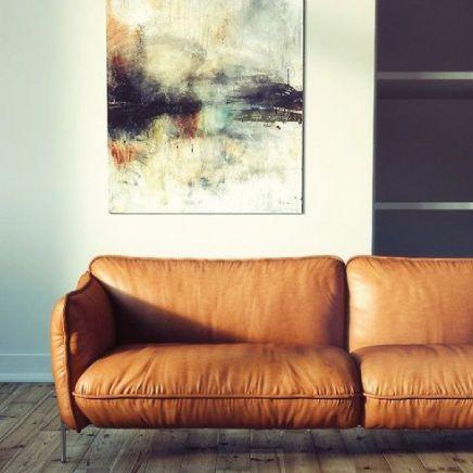 De Cognac Leren Bank 2 Zitsbank Cognac Leather Sofa