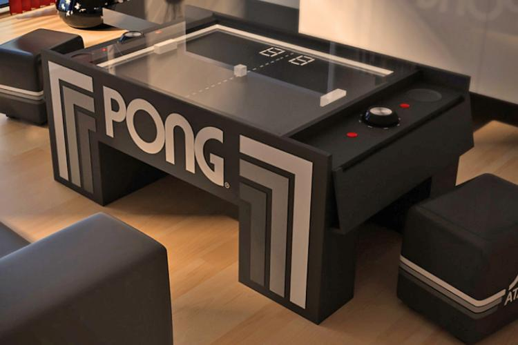 Atari Pong Coffee Table Coffee Table Coffee Table Video Coffee