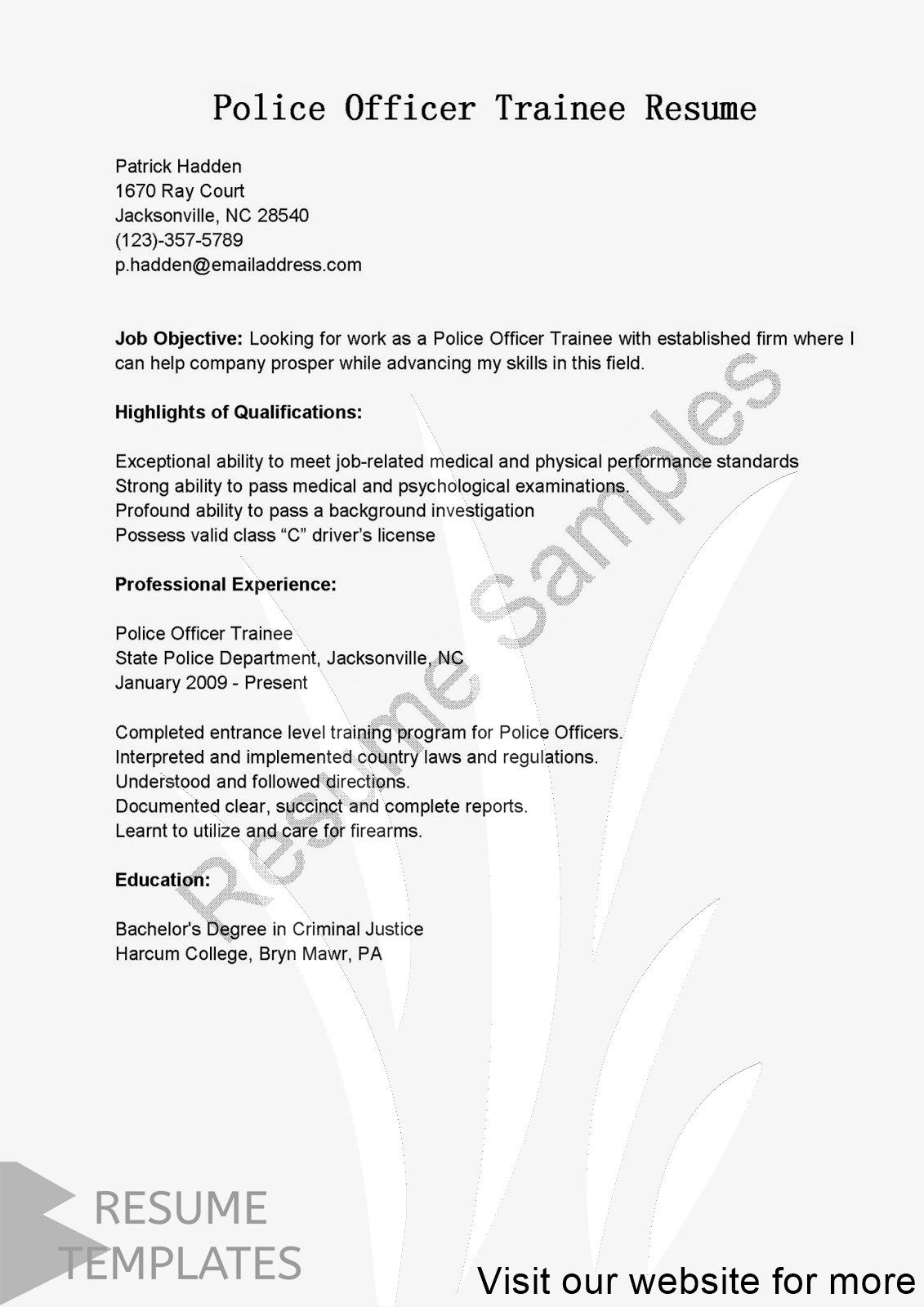Resume Template Electrician Professional In 2020 Resume Template