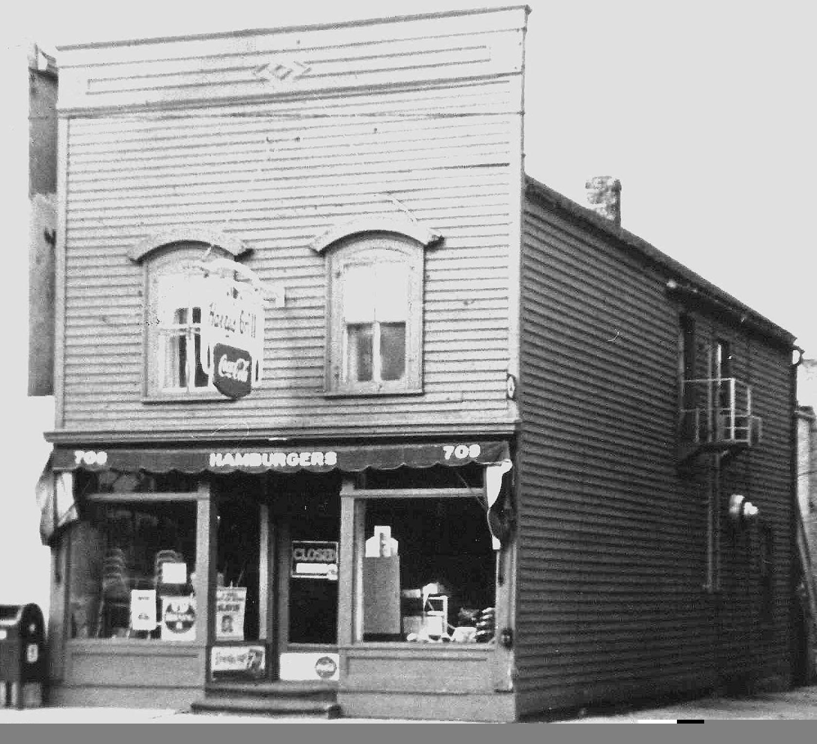 Deerfield, Il Harrys Grill (On Deerfield Road, Ca 1950S), The