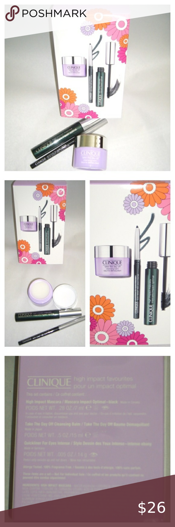?Clinique High Impact Eye Set in 2020   Clinique. Liquid liner. Make up remover