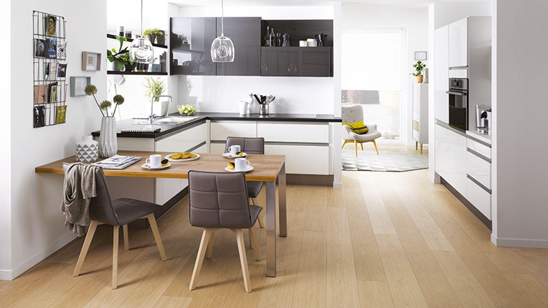 Cuisine quip e lenna style archi graphic meuble cuisine cuisine cuisinella et cuisine - Petite cuisine integree ...