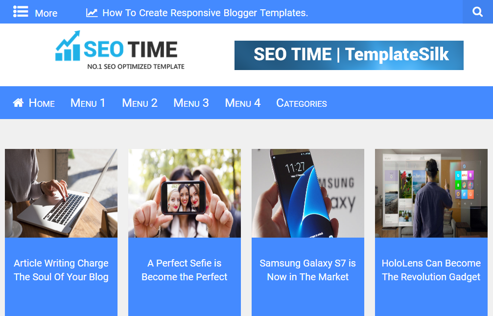 SEO Time Blogger Template download | SEO Time Blogger Template ...
