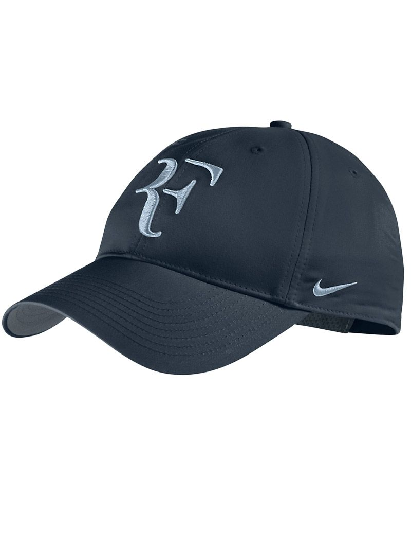 Roger Federer Hat Black Blue Stuff Tennis