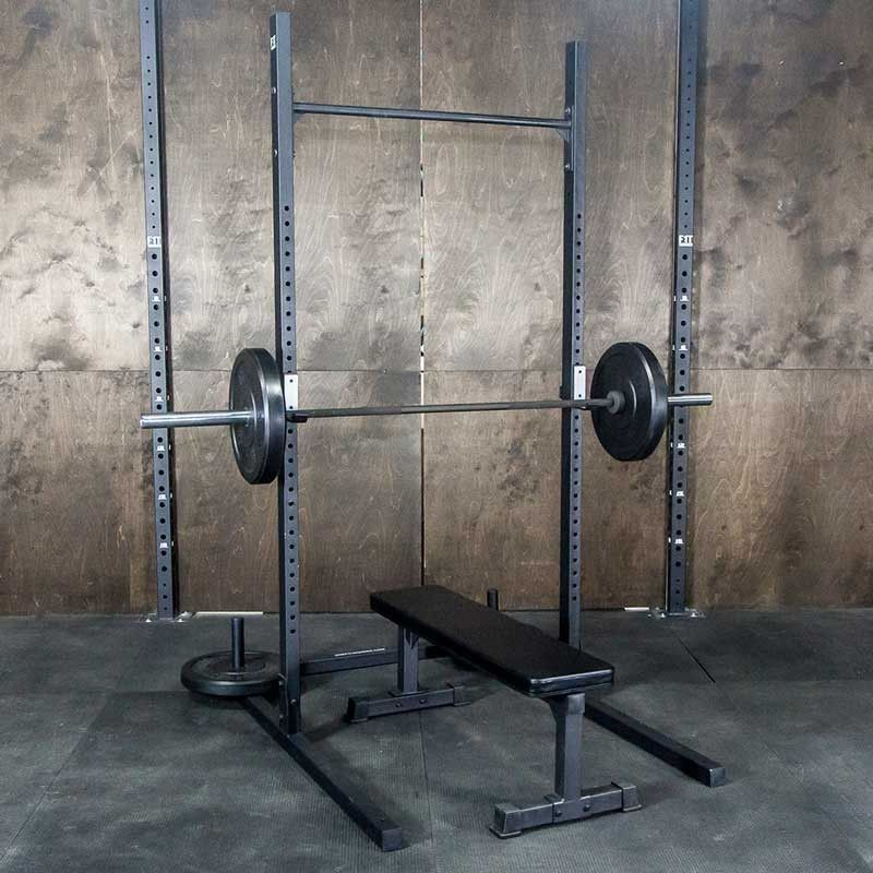 Squat Rack With Pullup Bar Pull Up Bar Squats Garage Gym