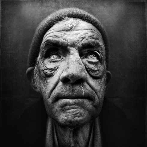 Portraits of the homeless.