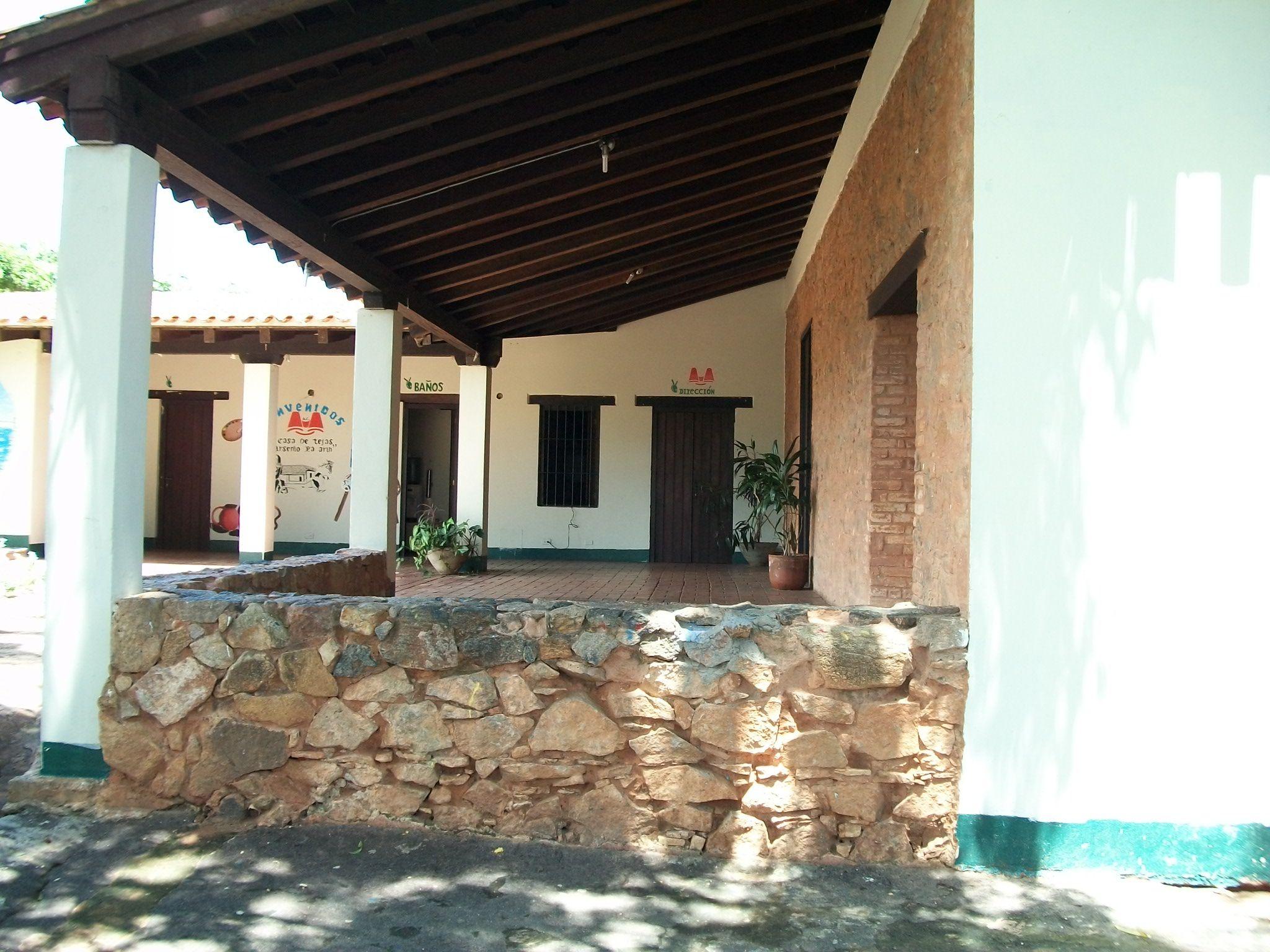 Casa de Tejas. Ciudad Bolívar. Venezuela Casas