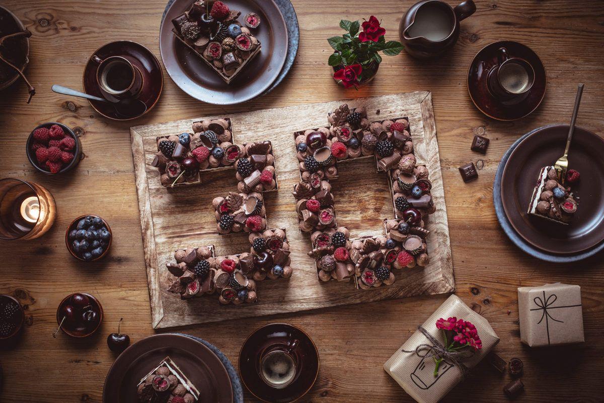 24 Erwachsene 30th Geburtstag Essbaren Kuchen Topper Wafer Reis