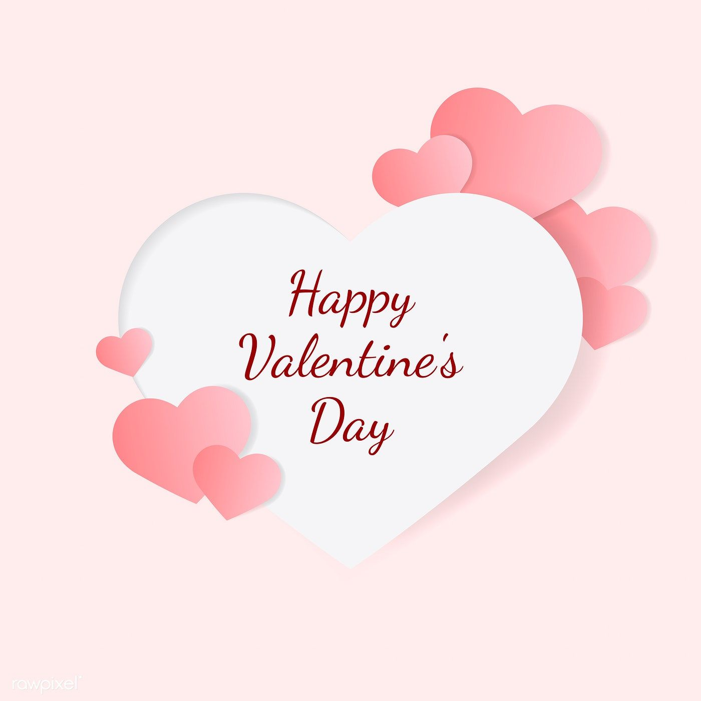 Valentine S Day Vector Design Concept Free Image By Rawpixel Com Sasi Valentines Day Drawing Valentines Day Clipart Valentines Printables Free