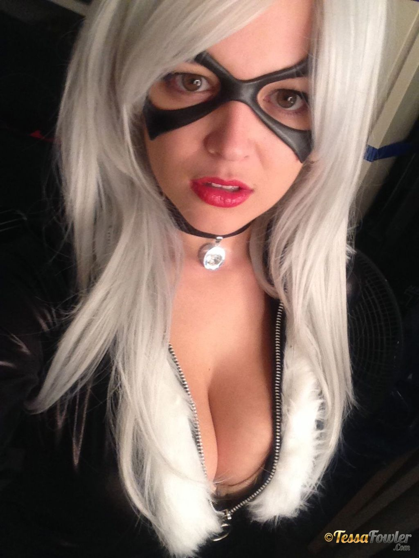 Tessa fowler black cat