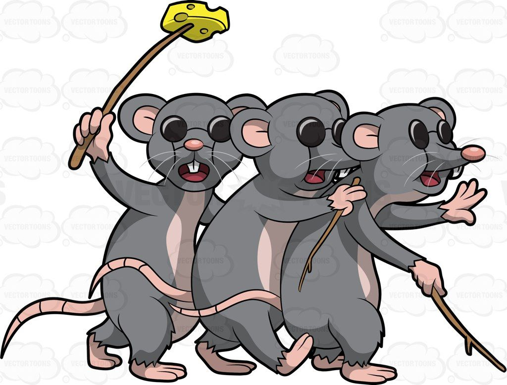 Three Blind Mice #cart...