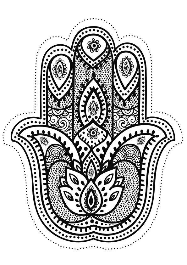 Pingl par lilith e sur mandala imprimer pinterest - Dessin oriental a imprimer ...