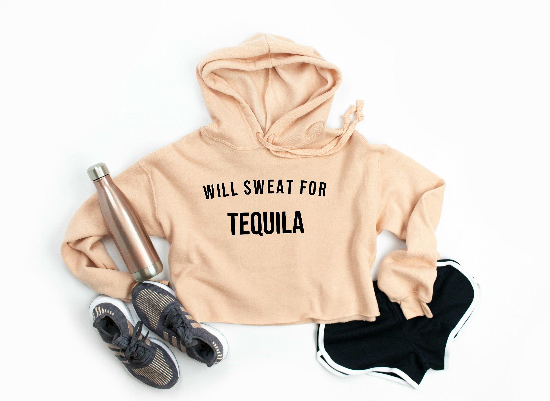 Womens Fleece Pullover Hoodie I Love Tacos