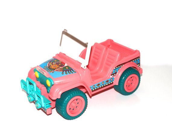 Barbie Jeep Vintage